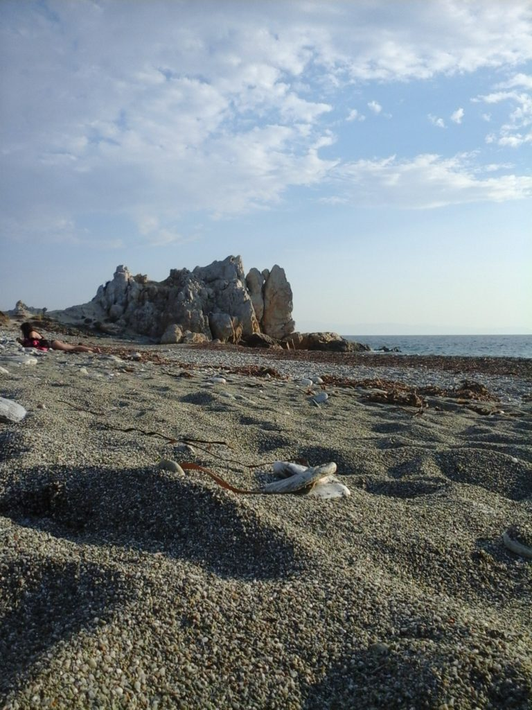 Armenopetra, beautiful beach in Skopelos