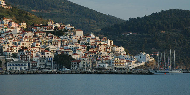 Skopelos, Sporades, Agean, Greece. Best Greek island. Summer holidays