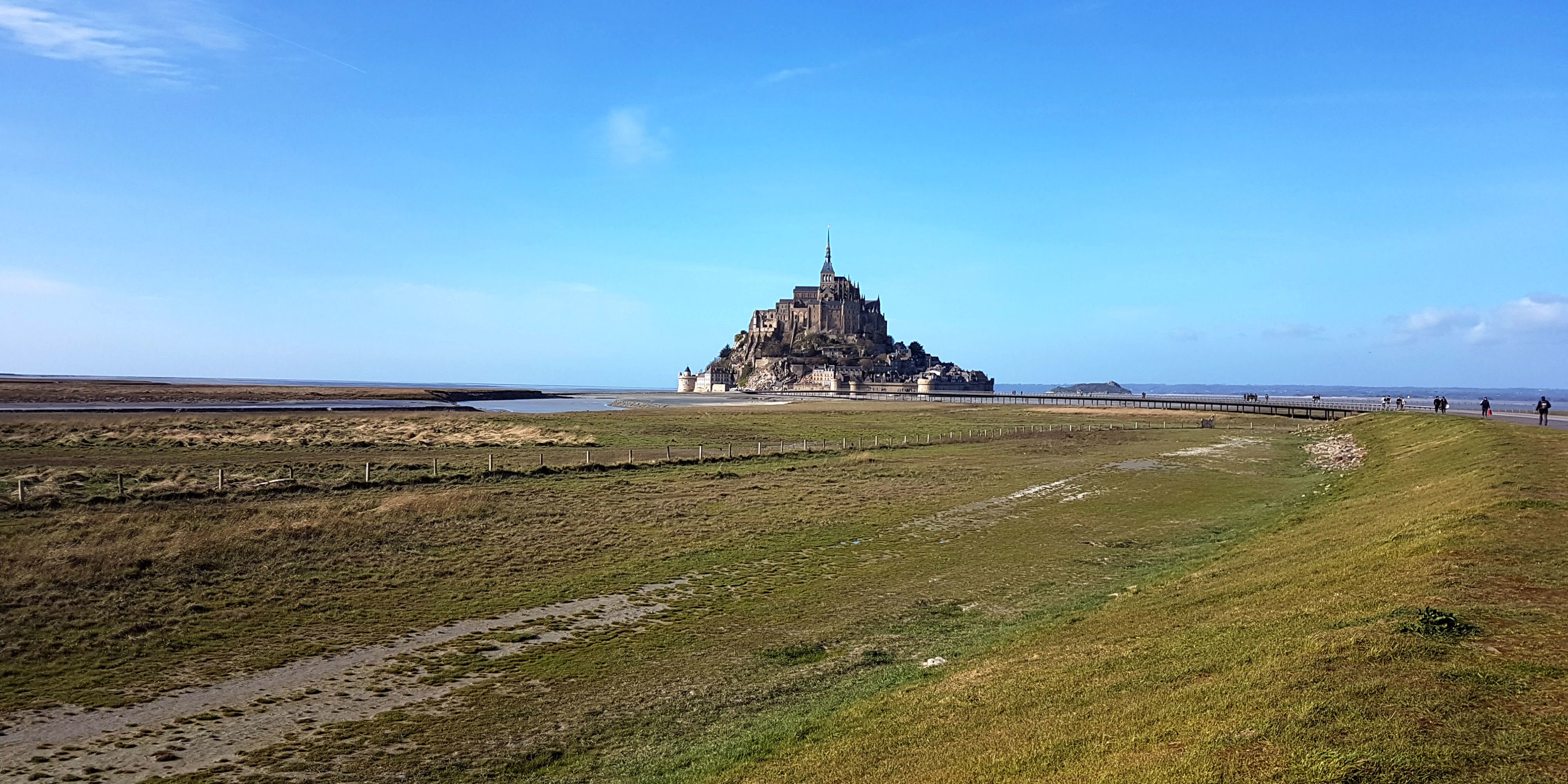 Mont Saint Michel, getting closer and closer