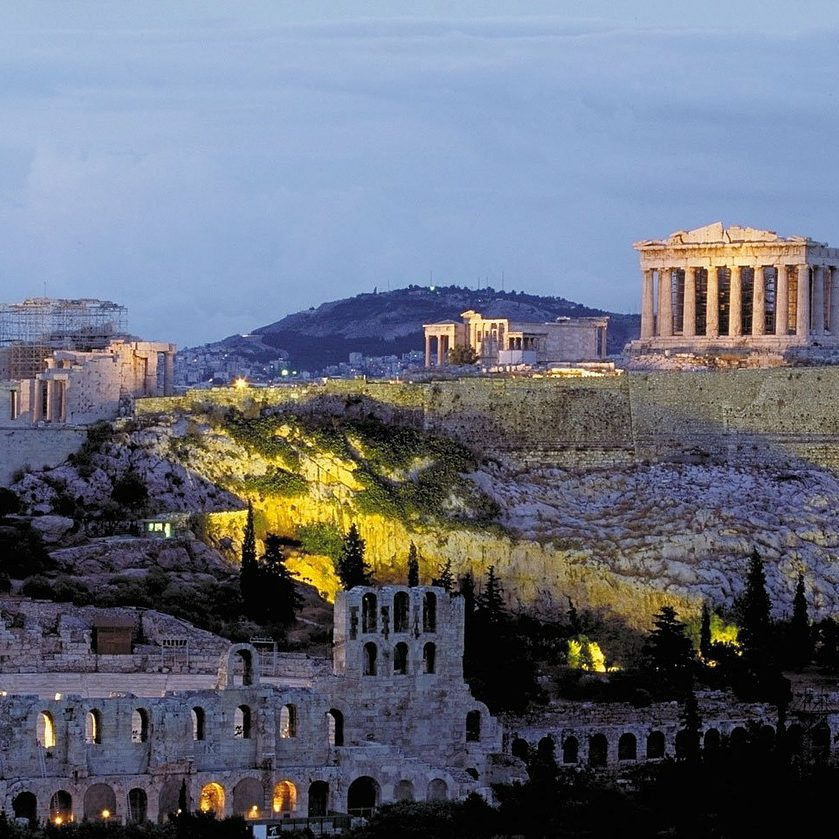 Acropolis in Athens. Travel guide athens. What to do and see in Athens.